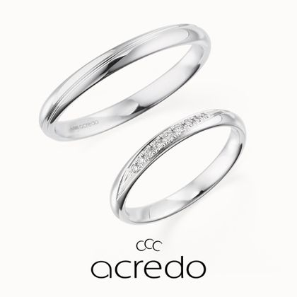 【acredo(アクレード)】【Scope/ミライスコープ】シンプルリングの価値を高める、鍛造リングの「真円」の美しさ