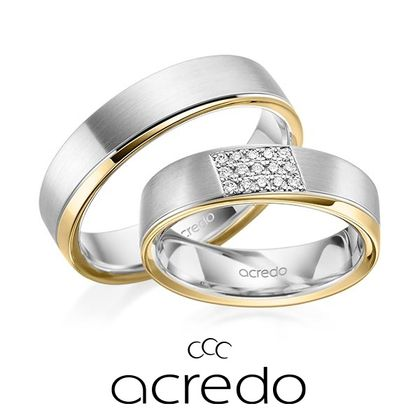 【acredo(アクレード)】イエローゴールドが引き立たせるゴージャス感溢れる指輪