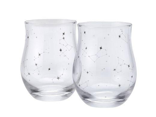 PAIR GLASS プラチナ箔で星座を描いたオリジナルペアグラス