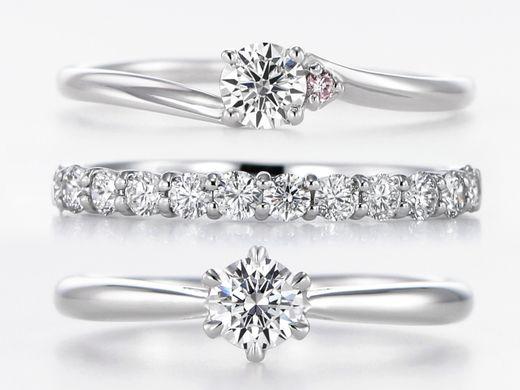 お急ぎプロポーズに!当日お持ち帰り婚約指輪ご用意しております