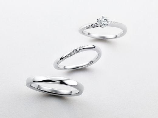 【ご成約のお客様限定】対象の指輪ご購入の方に有料でメレダイヤモンドのグレードアップサービス