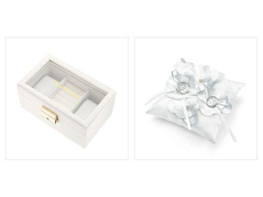 【エンゲージリング・マリッジリング】オリジナルジュエリーボックス、リングピロー プレゼント