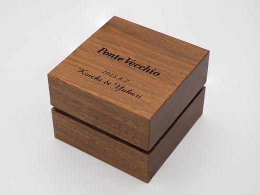 【エンゲージリング・マリッジリング】スペシャルボックス刻印サービス