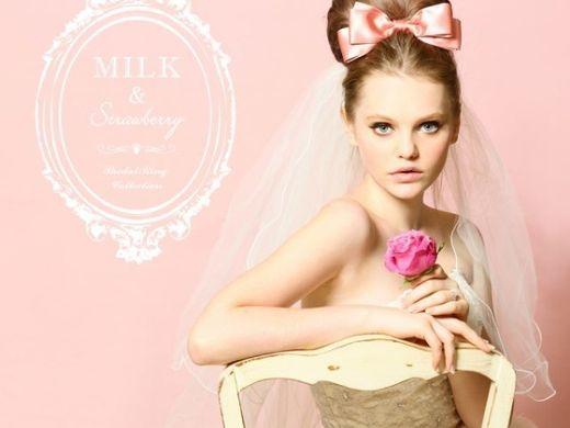 【GRACIS全店】MILK&Strawberryから3つの素敵なプレゼント♪