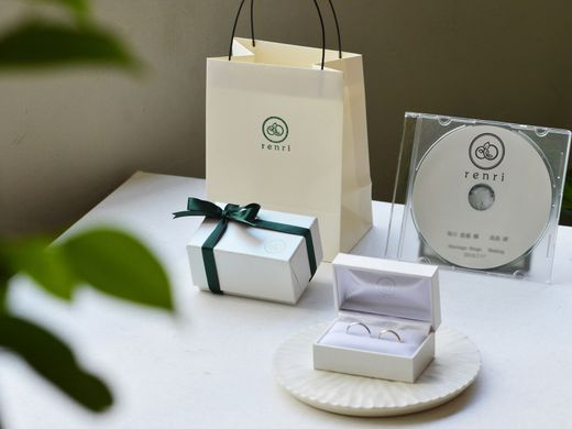 【想いを込めた指輪と共に】オリジナルケースと想い出の写真のプレゼント
