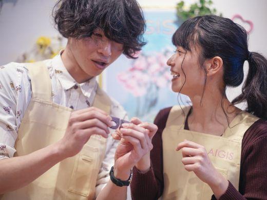 【ご成約特典】思い出も一緒に♪結婚指輪の制作風景DVDをプレゼント!