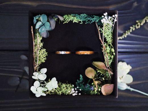 手作りボタニカルケースプレゼント