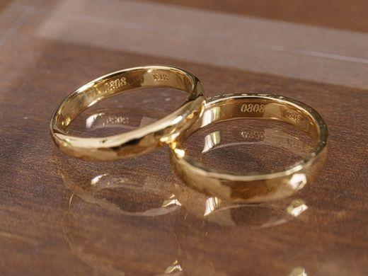 """""""お二人だけ""""の結婚指輪 内側への刻印無料♪"""
